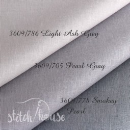 Belfast 32 ct Zweigart Pearl Gray (перлинно-сірий) 3609/705