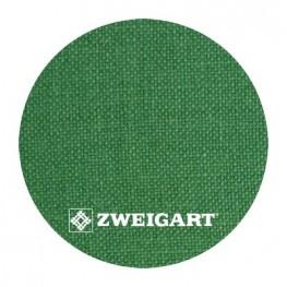 Belfast 32 ct Zweigart Spruce Green (хвойний зелений) 3609/601