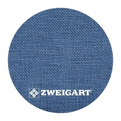 Belfast 32 ct Zweigart Blue Spruce/French Blue (голубая ель) 3609/578