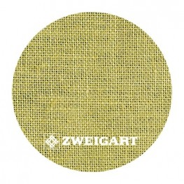 Belfast 32 ct Zweigart Willow Green (цвет зеленой ивы) 3609/346