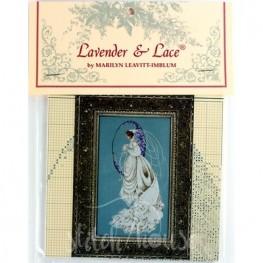 Схема Spring Bride Lavender and Lace LL55