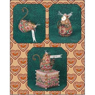 Схема Gingerbread Angel Mouse Just Nan JNLEGAM
