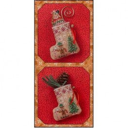 Схема Gingerbread Mouse Elf Stocking Just Nan JN304