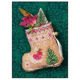 Схема Gingerbread Mouse Fairy Stocking Just Nan JN313