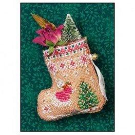 Схема Gingerbread Mouse Fairy Stocking Just Nan JN313