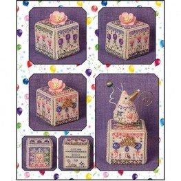 Схема Birthday Garden Cube Just Nan JN317