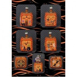 Схема Witchy Pumpkin Cottage Just Nan JN283