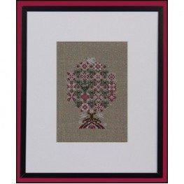 Схема Peppermint Snowflakes Tree Just Nan JN254