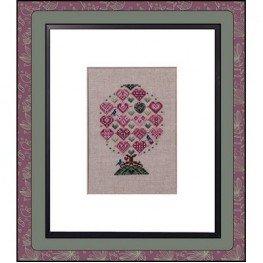 Схема Love Birds Tree Just Nan JN242