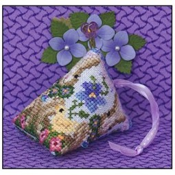 Схема 3 Violets Humbug Just Nan JN227