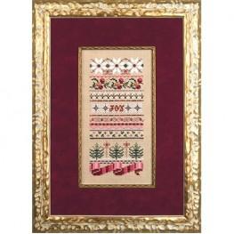Схема Christmas Ribbons Just Nan JN182