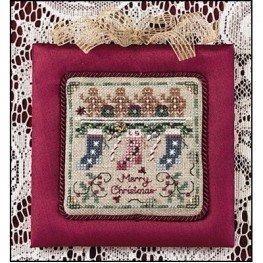 Схема Lady Scarlet's Christmas Just Nan JN080