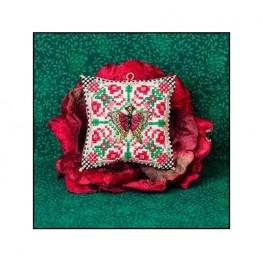 Схема Christmas Butterfly Ornament Just Nan JN314
