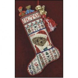 Схема Victor's Stocking Just Nan JN149