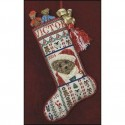 Схема Victor's Stocking Just Nan JN149