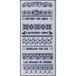 Схема Winter Blues Just Nan JN083