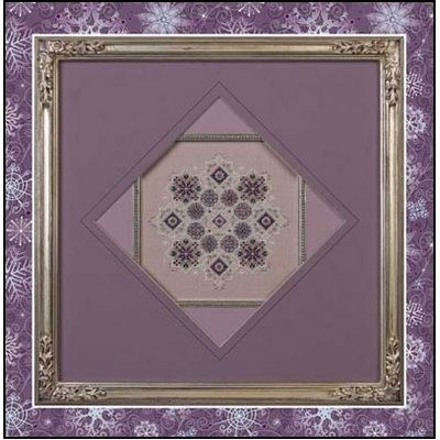 Схема Amethyst Snowflake Just Nan JN042R