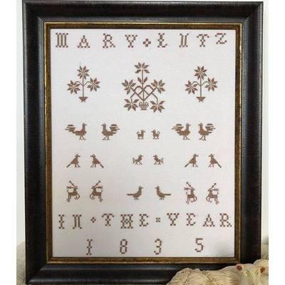 Схема Mary Lutz 1835 Kathy Barrick