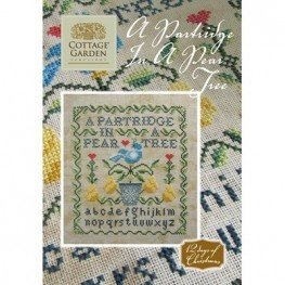 Схема A Partridge In A Pear Tree Cottage Garden Samplings
