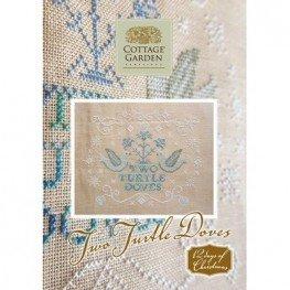 Схема Two Turtle Doves Cottage Garden Samplings