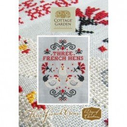 Схема Three French Hens Cottage Garden Samplings