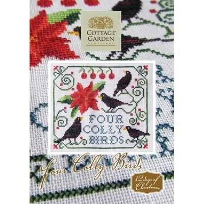 Схема Four Colly Birds Cottage Garden Samplings