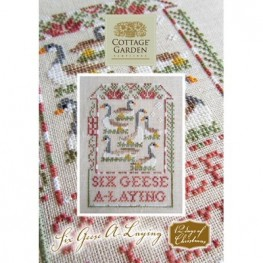 Схема Six Geese A-Laying Cottage Garden Samplings