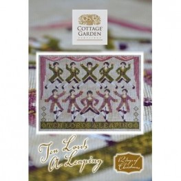 Схема Ten Lords A-Leaping Cottage Garden Samplings