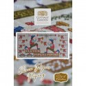 Схема Eleven Pipers Piping Cottage Garden Samplings