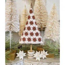 Схема Friendship Quilt Winter Tree Hello from Liz Mathews