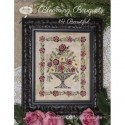 Схема Blooming Bouquets 4 Beautiful Jeannette Douglas