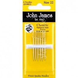 Иглы шенильные John James №22 (JJ18822)