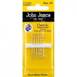 Голки шенильні John James №24 (JJ18824)