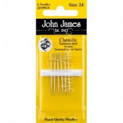 Иглы шенильные John James №24 (JJ18824)