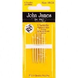 Голки шенильні John James №18-24 JJ18884