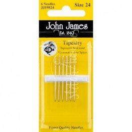 Иглы гобеленовые John James №24 (JJ19824)
