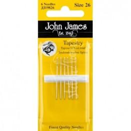 Иглы гобеленовые John James №26 (JJ19826)