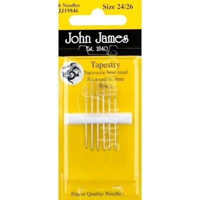 Иглы гобеленовые John James №24-26 (JJ19846)