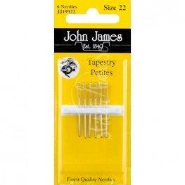 Иглы гобеленовые John James №22 (JJ19922)