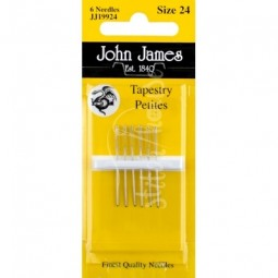 Иглы гобеленовые John James №24 (JJ19924)