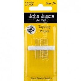 Иглы гобеленовые John James №26 (JJ19926)