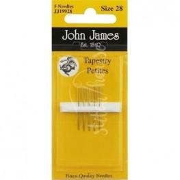 Иглы гобеленовые John James №28 (JJ19928)
