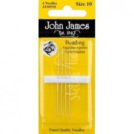Иглы бисерные John James №10 (JJ10510)
