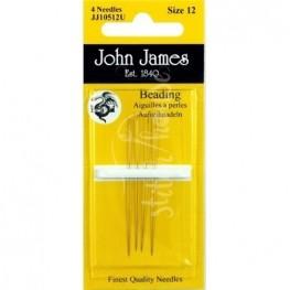 Голки бісерні John James №12 (JJ10512U)