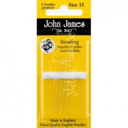 Голки бісерні John James №15 (JJ10515)