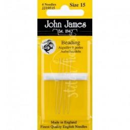 Иглы бисерные John James №15 (JJ10515)