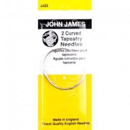 Иглы изогнутые John James (JJ22)