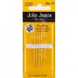 Голки бісерні John James №12 (JJ10512)