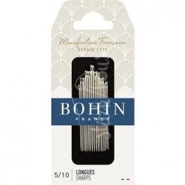 Набір голок для шиття Sharp №5-10 Bohin 00273