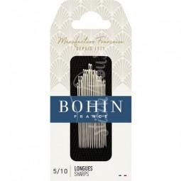 Набор игл для шитья Sharp №5-10 Bohin 00273
